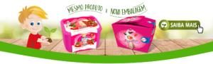 Ilustração da caixa de papel de sorvete 2L