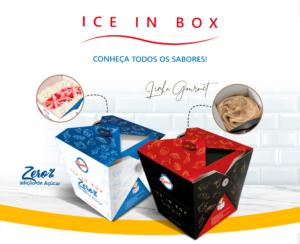 Ilustração do Ice in box - Sorvete na Caixa